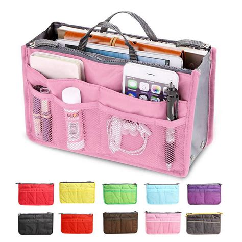 Project Tas Travel Bags In Bag Travel Organizer 6 In 1 13 colors make up organizer bag casual travel bag multi functional cosmetic bags