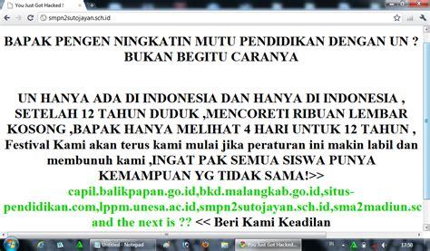 Sho Nr Satu Paket hacker indonesia tolak un 20 paket soal squidy
