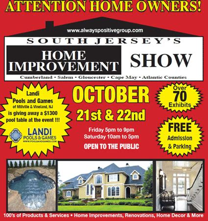 south jersey home improvement show
