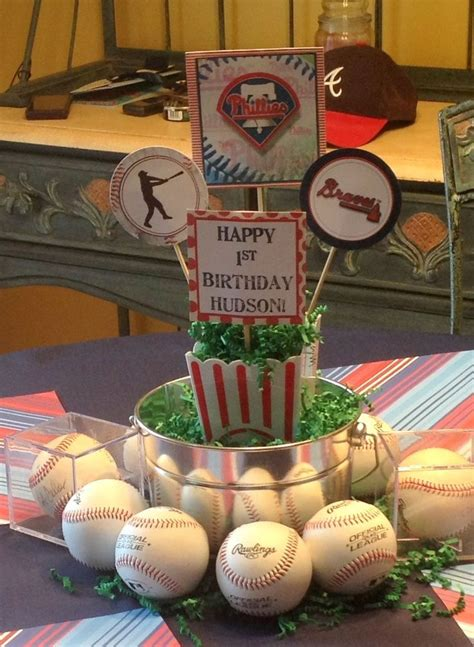 baseball themed decorations 25 best ideas about baseball centerpieces on