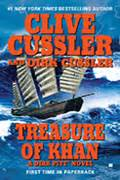 libro treasure of khan dirk clive cussler author of the dirk pitt 174 novels the numa 174 files the isaac bell adventures the