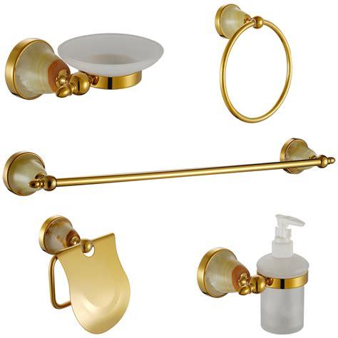 copper bathroom accessories sets luxury crystal bathroom accessories sets gold usd304