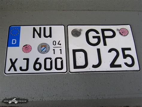 125er Motorrad Kennzeichen by Kennzeichen Wie Viele Zeichen Ziffern Biker Stammtisch