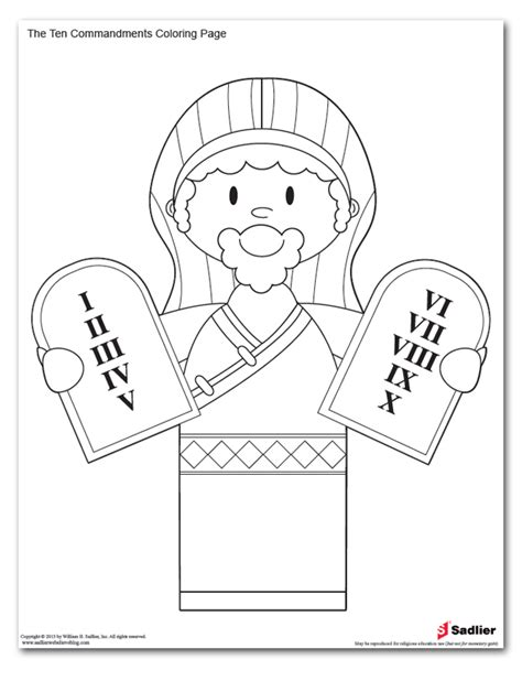 printable coloring pages for ten commandments ten commandments coloring pages az coloring pages