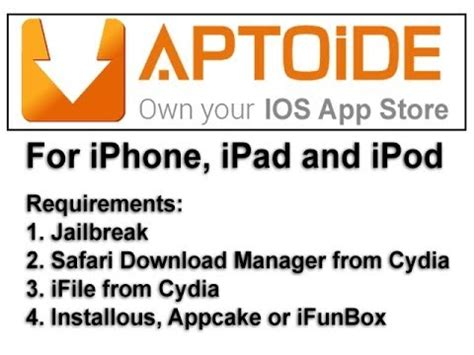 aptoide like app for iphone aptoide for ios iphone ipad ipod own your ios app