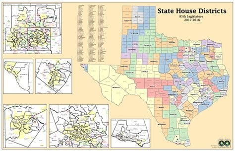 texas state house district map texas house district map swimnova