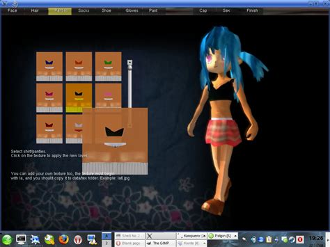 make create a person virtual people character games maker3d image mod db