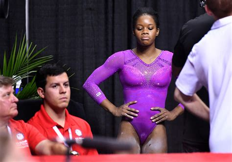 women s gymnastics simone biles cruises into san jose s olympic simone biles leads after a nervous first day of olympic