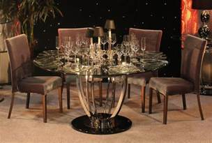 Round Glass Top Dining Table Favorite Table Bases For Glass Top Homesfeed