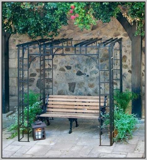 Wrought Iron Gazebo Arbor Gazebo Home Design Ideas Wrought Iron Pergola Kits