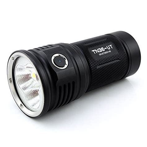Sented Led Cree thrunite tn36 ut 7300 lumen cree xhp 70 led flashlight black import it all