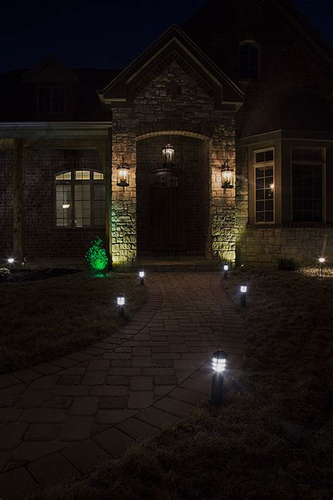 landscape bollard lights led landscape path lights mini bollard 2 watt