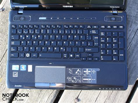 inceleme toshiba satellite a660 151 notebook notebookcheck tr