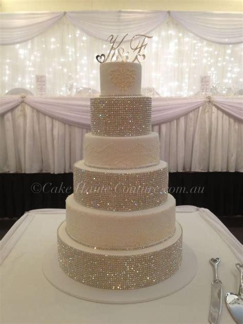 Cupcake Chandelier Stand Best 25 Rhinestone Wedding Cakes Ideas On Pinterest