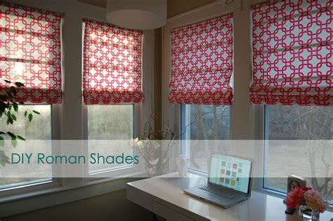 simple pattern for roman shades flashback friday diy no sew roman shades made2style