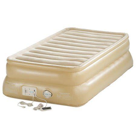 aerobed 88021 smart settings 20 quot raised air bed mattress walmart