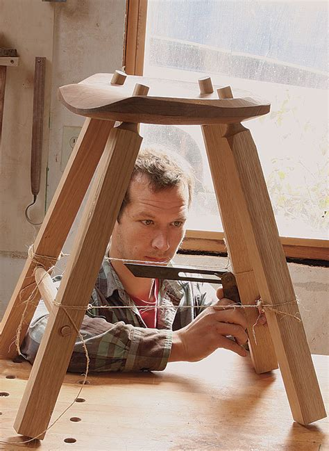 Build A Simple Stool by Build A Simple Stool Finewoodworking