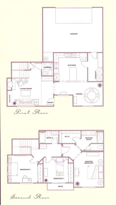 Solstice Floor Plan by Country Solstice Tract Homes Plan 4 Floor Plan