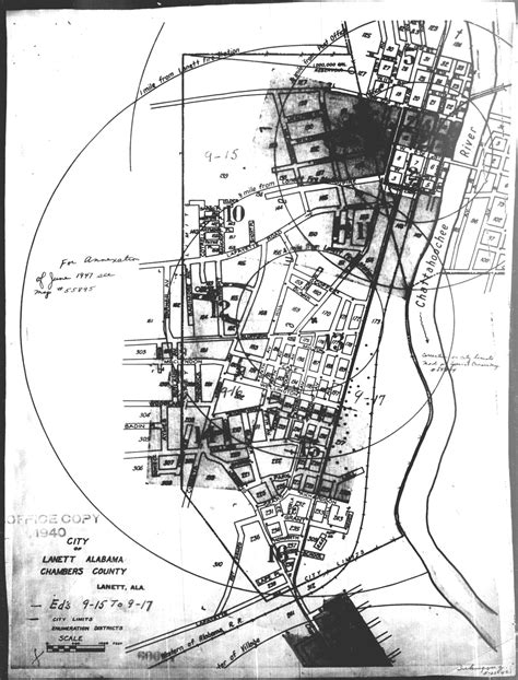 Chambers County Records 100 1940 Census Enumeration District Maps The Usgenweb Archives Project
