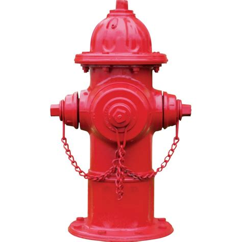 Trendy Home Decor by Red Fire Hydrant Wall Decal Kerstee