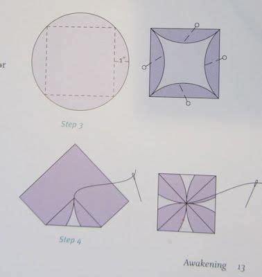 origami folded flower design quilt 1000 images about japanese folded patchwork on pinterest