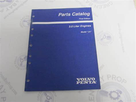 volvo penta stern drive parts catalog lk  green bay propeller marine llc