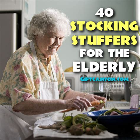 40 stocking stuffers for the elderly gift canyon