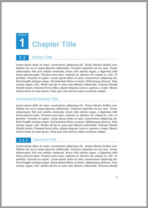 latex section style sectioning customizing chapter and section style