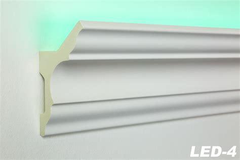 stuckleisten beleuchtet 20 meter led profil pu stuckleiste indirekte beleuchtung