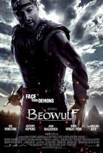 themes in beowulf the movie film education resources beowulf posters and trailer