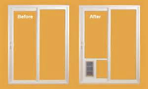 Patio Door Seal Simplify Your Life By Installing A Pet Door Great Northern