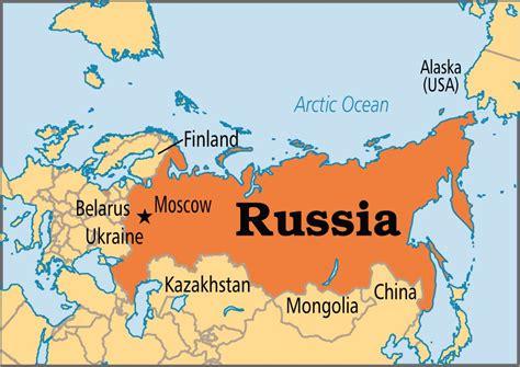 2016 map of russia احر مدن روسيا المرسال
