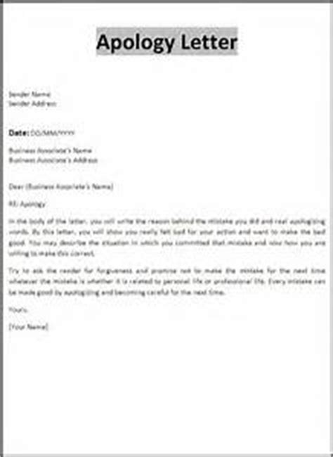 Apology Letter Late Delivery Formal Apology Letter To Client Letter Of Recommendation