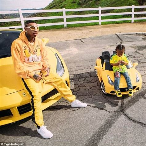 tyga yellow bentley jenner s boyfriend tyga raising king cairo