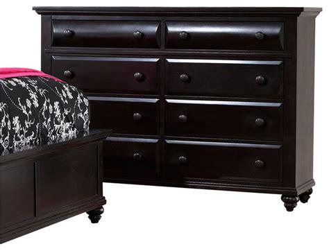 Broyhill Farnsworth Dresser by Broyhill Farnsworth 8 Drawer Dresser In Inky Black Stain