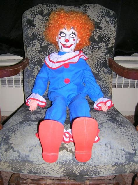 haunted krusty doll 545 best images about psycho clowns on creepy