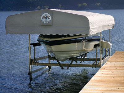 boat dock canopy covers boat lift canopies badger docks and lifts