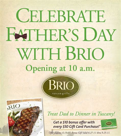 Outback Gift Card Deal - brio outback gift card deal