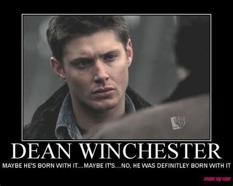 Supernatural Birthday Meme - supernatural deliciously dean winchester pinterest