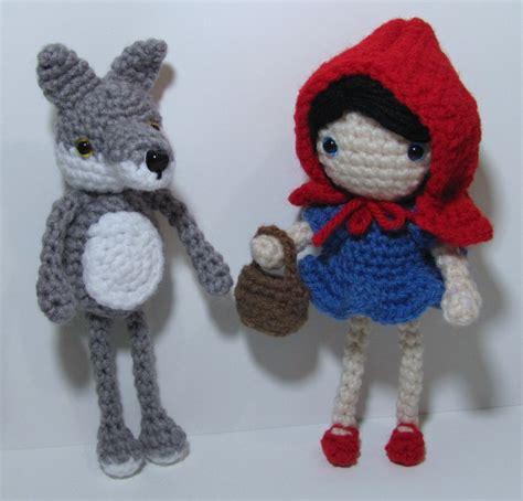 amigurumi pattern wolf little red riding hood amigurumi free crochet pattern