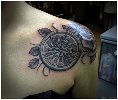 tattoo chest compass 51 attractive compass tattoo design on chest
