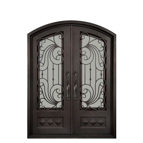 home depot wrought iron paint iron doors unlimited 74 in x 98 in mara marea classic 3