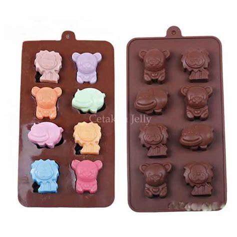 Cetakan Coklat Puding Silikon Huruf Cetakan Puding Lucu Unik cetakan silikon coklat puding animal cetakan jelly cetakan jelly