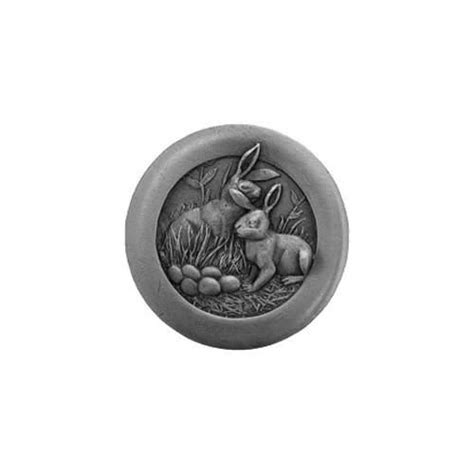Knob Hill Hardware by Antique Pewter Rabbits Knob Notting Hill Decorative