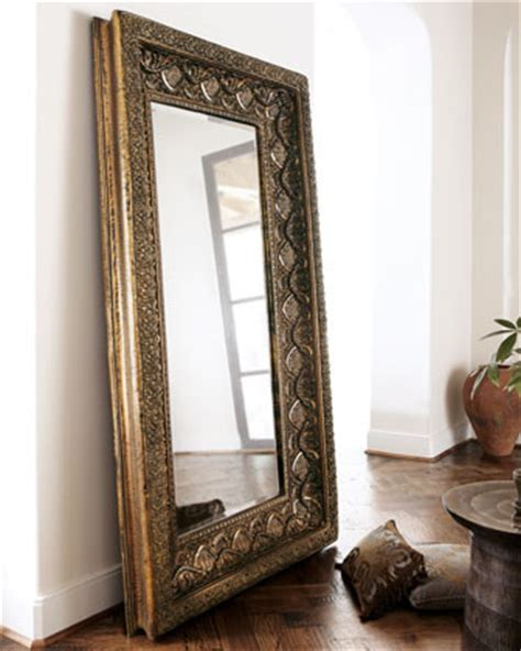 Large Floor Mirror by Resin Floor Mirror Traditional Floor Mirrors