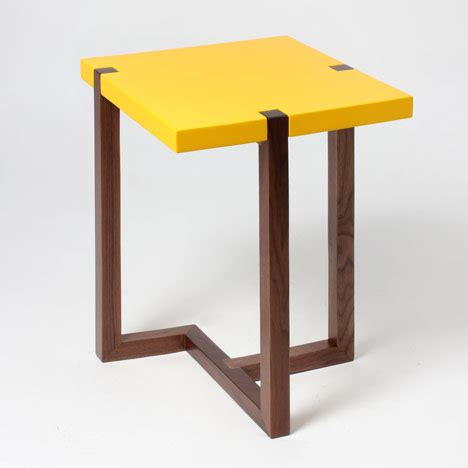 side table design table design dezeen magazine