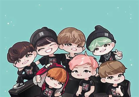 bts anime pictures bts chibi anime characters army s amino