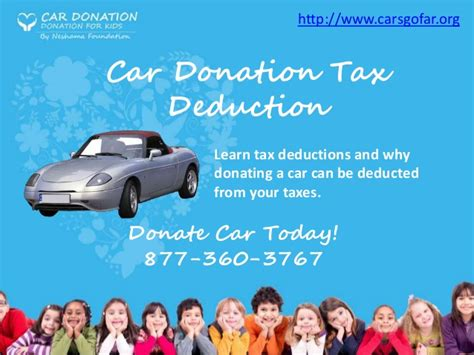 car donation tax deduction car donation tax deduction