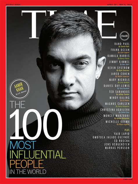 time 100 most influential people 時代週刊 2013年度全球100位最具影響力人物 a day magazine