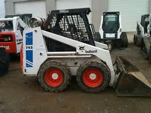 bobcat 742 b 743 b skid steer loader factory workshop
